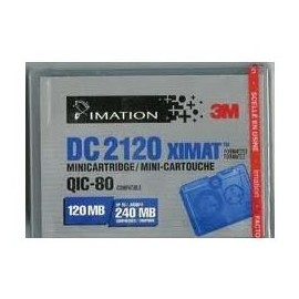 Cartouche IMATION DC2120 QIC80 120/240MB