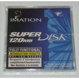 Super Disk Imation 120MB