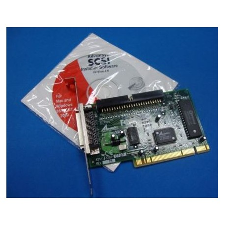 Carte PCI Fast SCSI 50pin Interne/Externe