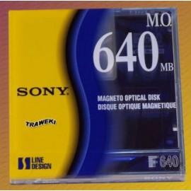 Disque Magnéto-Optique 640MB